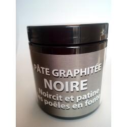 pate rénovateur graphite noire fonte poele