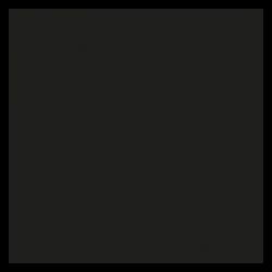 plaque de protection murale carrée unie de grande dimension pour poele