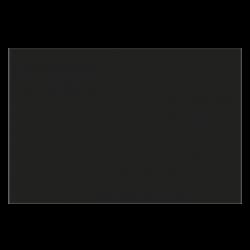 plaque de protection horizontale pour mur et poele à bois