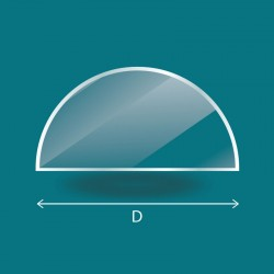 4mm - Demi-cercle