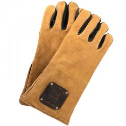Gants anti chaleur en cuir - Cheminée et insert ouvert