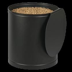 Stockeur A Granules Palass - Couvercle Noir