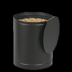 Stockeur A Granules Batiss Noir - Couvercle Noir