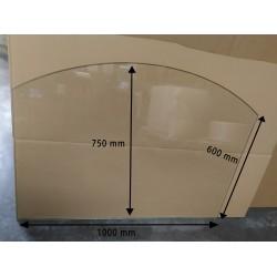 Plaque de sol 1000x600 mm avec défaut Ep. 8mm