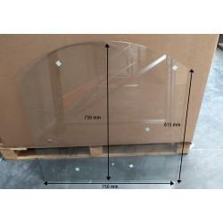 Plaque de sol 750x615mm avec défaut Ep. 6mm