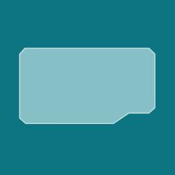 Vitre Rectangle - Jotul I570