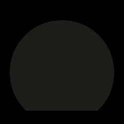 Plaque De Sol Ronde Coupée Ø110X95 cm - Acier