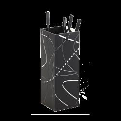 Serviteur Flame - Noir / Blanc