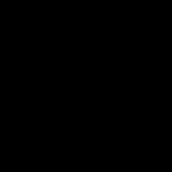 Firewall Caligo schwarzer Stahl H.76cm L.72cm P.66cm