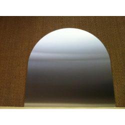 Rectangle Avec Un Côté Cintré 1000 X 1000 mm, Rayon 500 mm