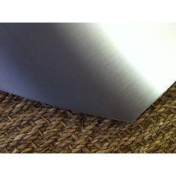 Rectangle Avec Un Côté Cintré 1000 X 1000 mm, Rayon 800 mm