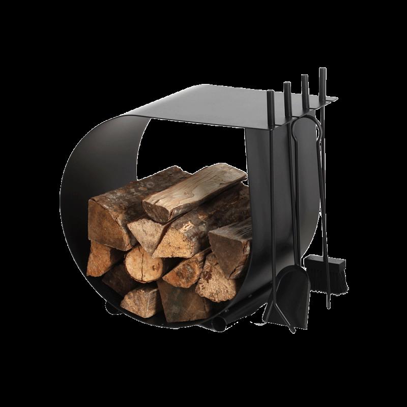 Rangement Bois / Serviteur Caracol - Ref DN-005.10426N3