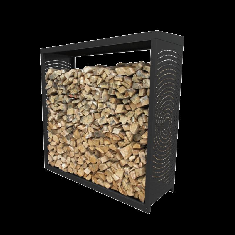 Rangement Bois Woodbox - Noir N3 - Ref DN-005.10518N3