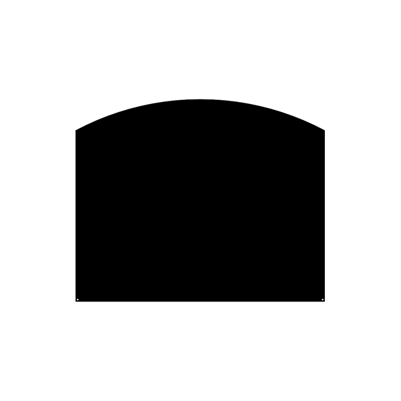 Plaque De Sol Arrondie 100X80 Cm - Ref DN-017.PSA4N3