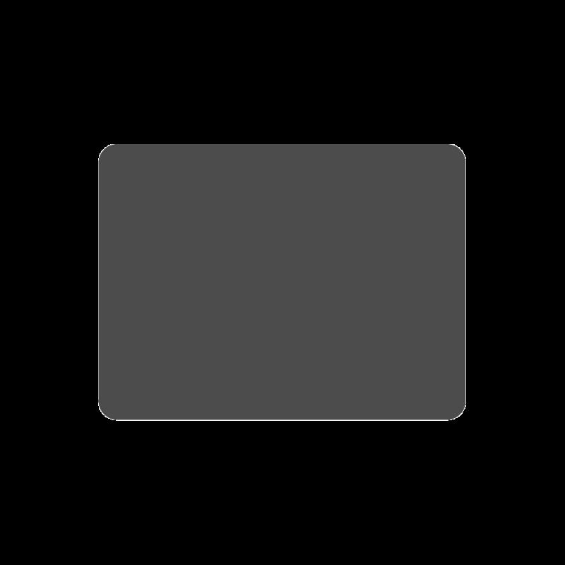 Plaque De Sol 100X65 Cm - 4 Angles Arrondis - Ref DN-017.PSR3G7