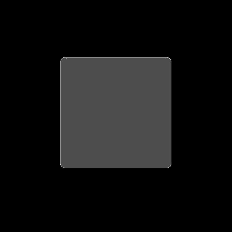 Plaque De Sol 100X100 Cm - 4 Angles Arrondis - Ref DN-017.PSR5G7