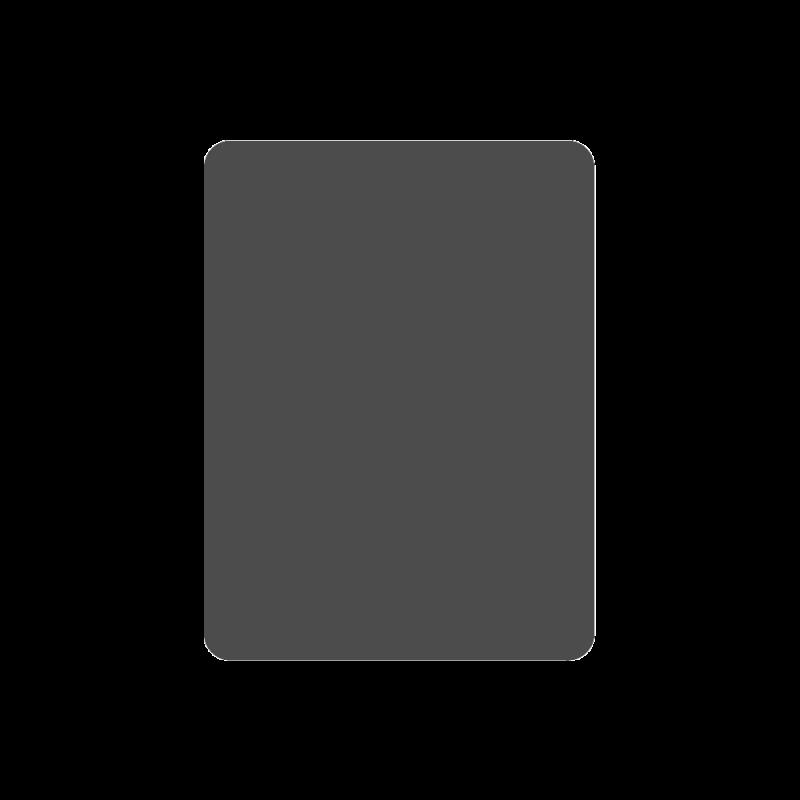 Plaque De Sol 125X80 Cm - 4 Angles Arrondis - Ref DN-017.PSR6G7