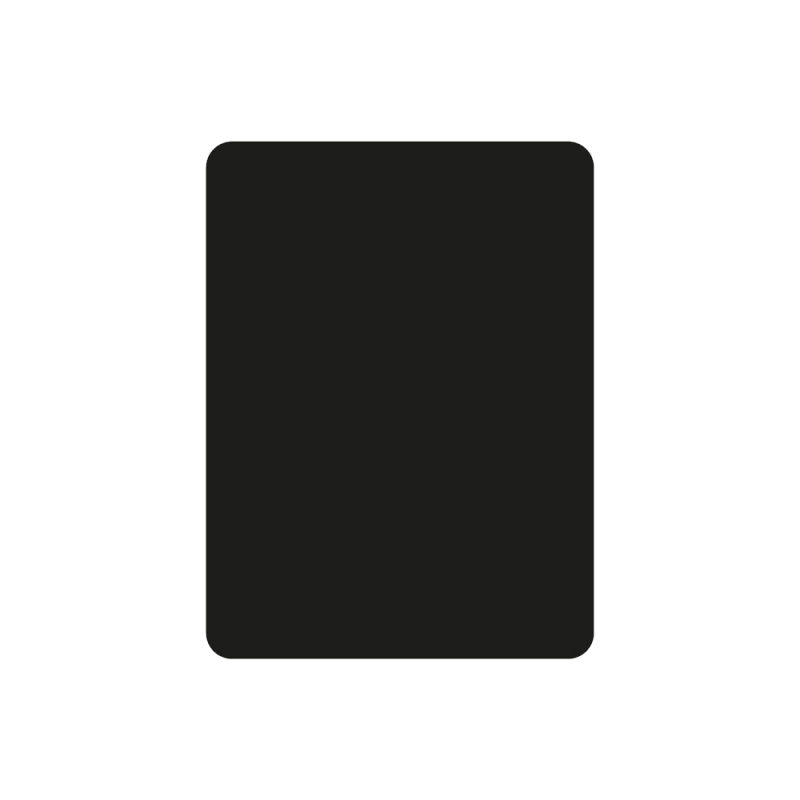 Plaque De Sol 125X80 Cm - 4 Angles Arrondis - Ref DN-017.PSR6N3