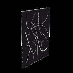 Protective wall panels for wood-burning stoves – Capska