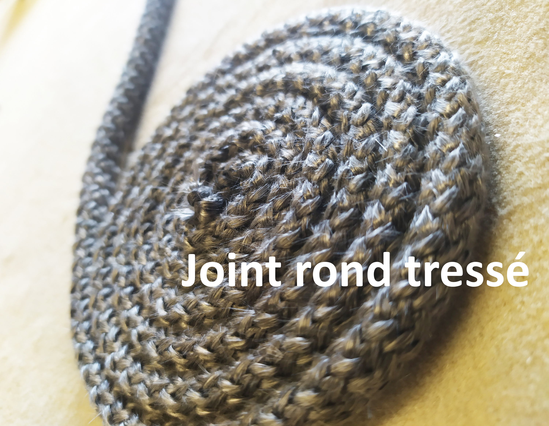 Joint rond tressé